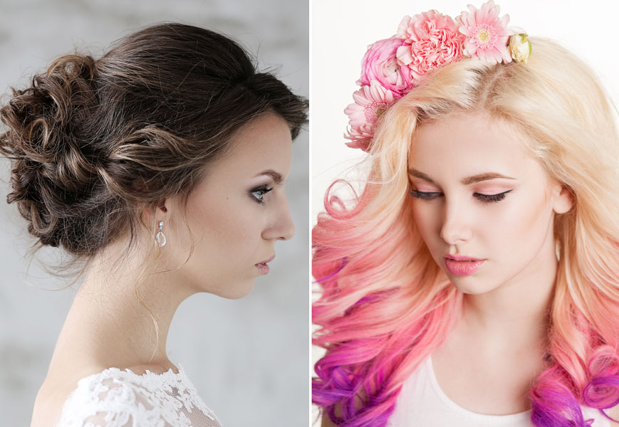 Formal Hair Wedding or Prom