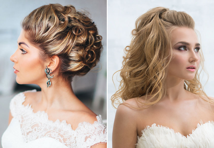 Formal Hair Updo and Downswept