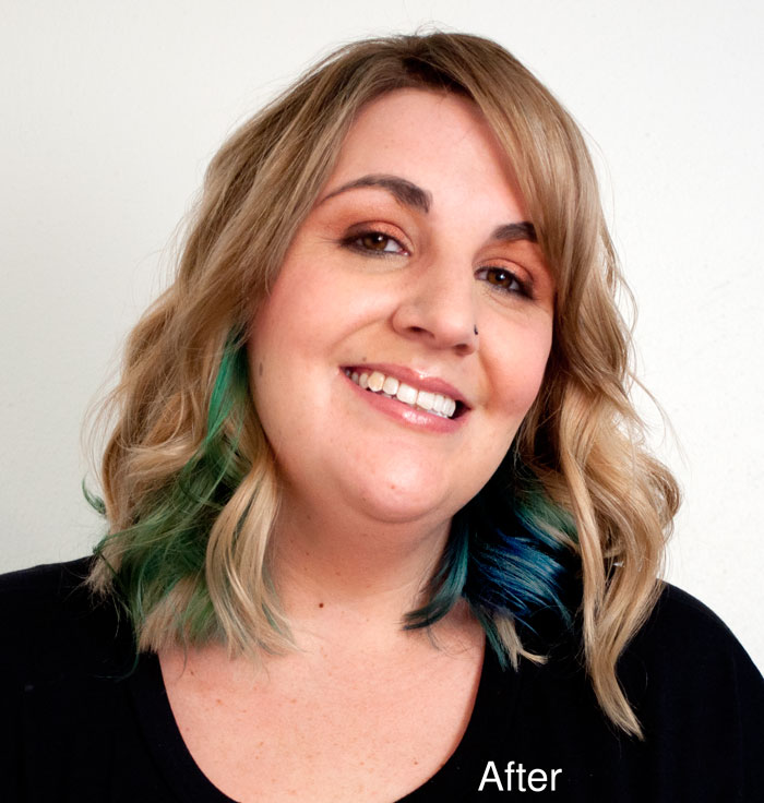 Nicole After Cut, Color and Style Services at Cuts N Stuff, New Florence, PA